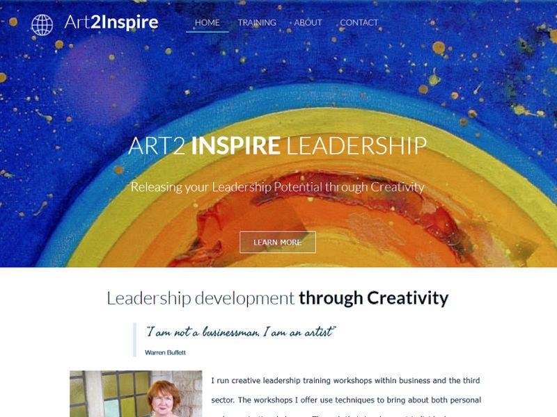 art2inspire example web design stroud