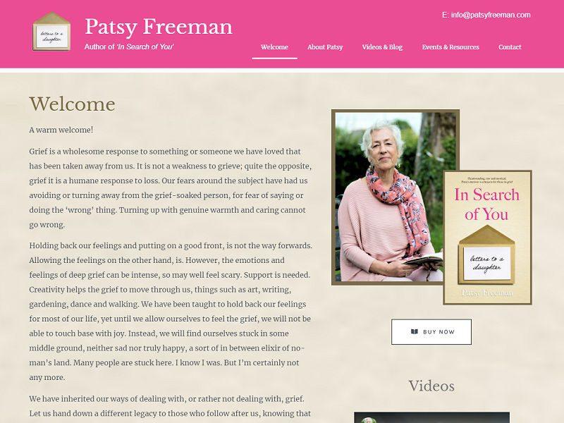 patsy freeman nailsworth website